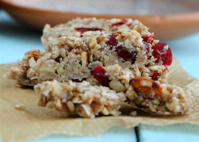 Oat-Free and Gluten-Free Granola Bars