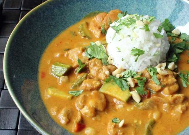 Chef John's Peanut Curry Chicken
