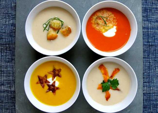 4 Soup Garnishes