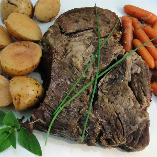 Marie's Easy Slow Cooker Pot Roast