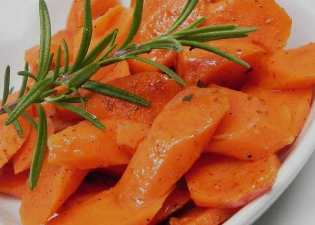 Herb Braised Carrots