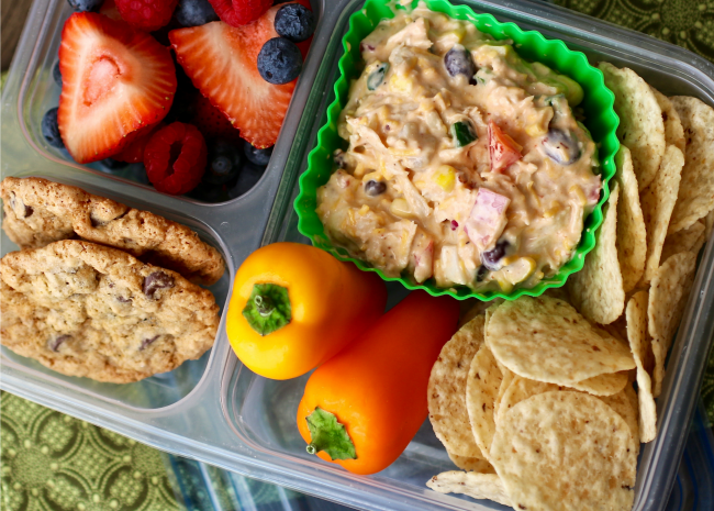 Southwest Chicken Salad Bento Box