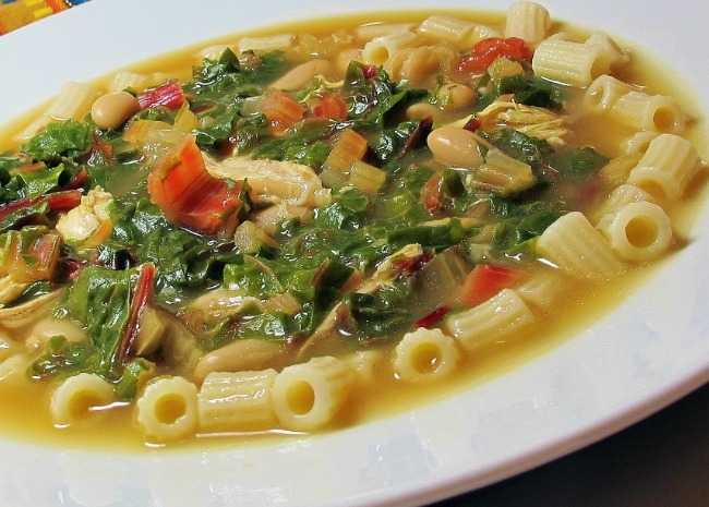 Beans, Greens and Garlic Soup