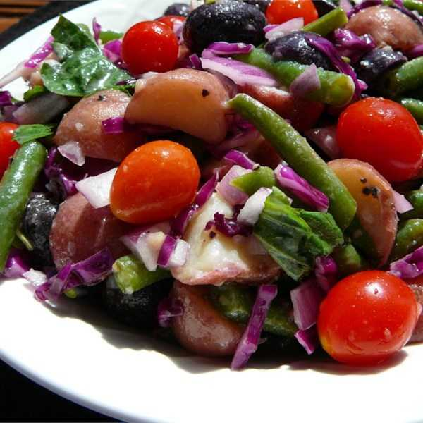Veggie Potato Salad for a Crowd