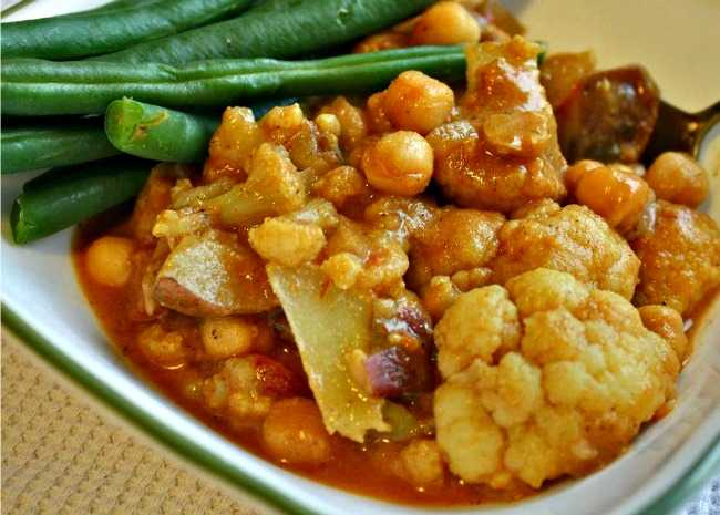 Butter Chickpea