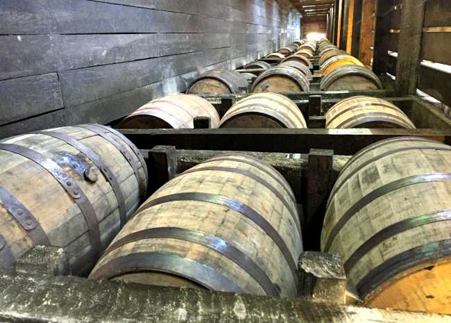 650 x 465 heaven hills barrel room photo by Leslie Kelly