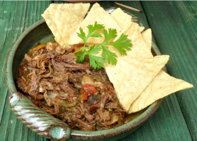 Slow Cooker Machaca