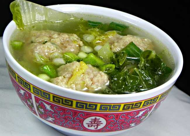 Chinese Lions Head Soup