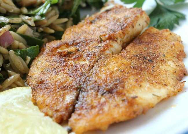 Pan-Seared Tilapia
