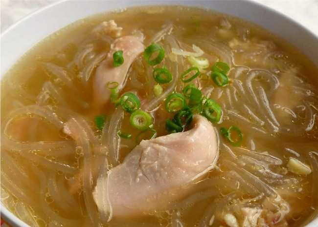 700610 Chicken Long Rice Soup Photo by OkinawanPrincess 650x465