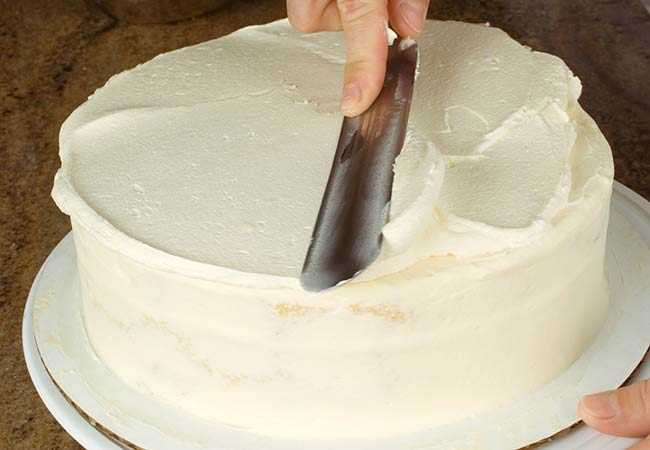 wedding cake frosting no shortening assembling a wedding cake allrecipes 22733
