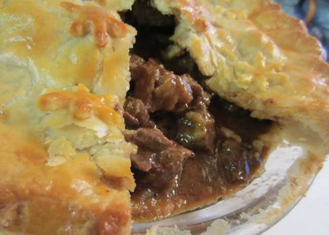 Steak and Irish Sout Pie