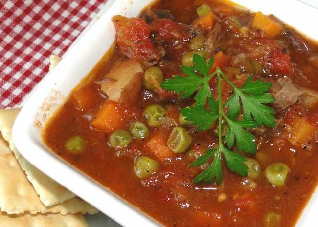 Martha's Vegetable Beef Soup