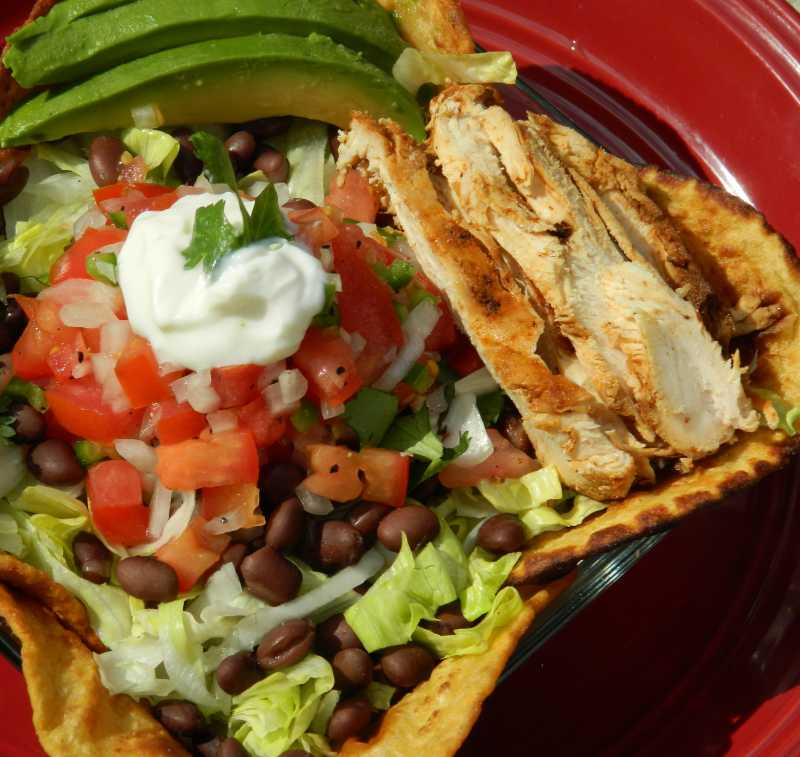 882280_Grilled Chicken Taco Salad_223029_Photo by Stirring Up Trouble