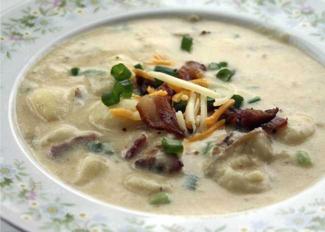 Baked Potato Soup I