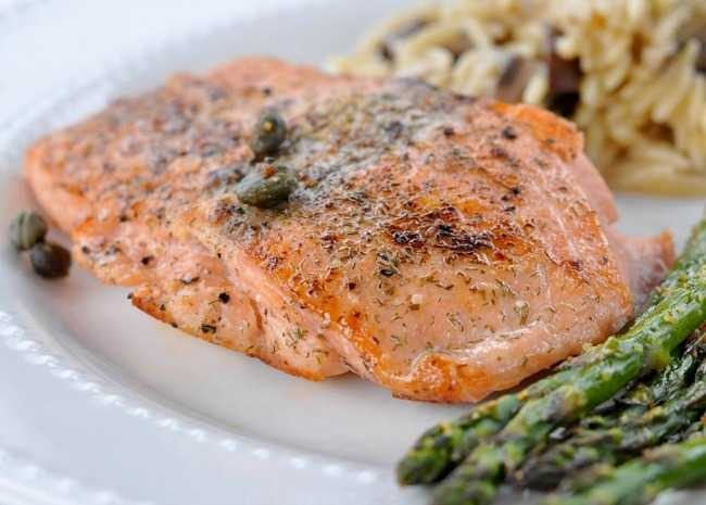 Pan Seared Salmon I