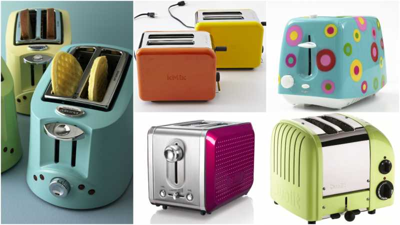 Colorful Toasters