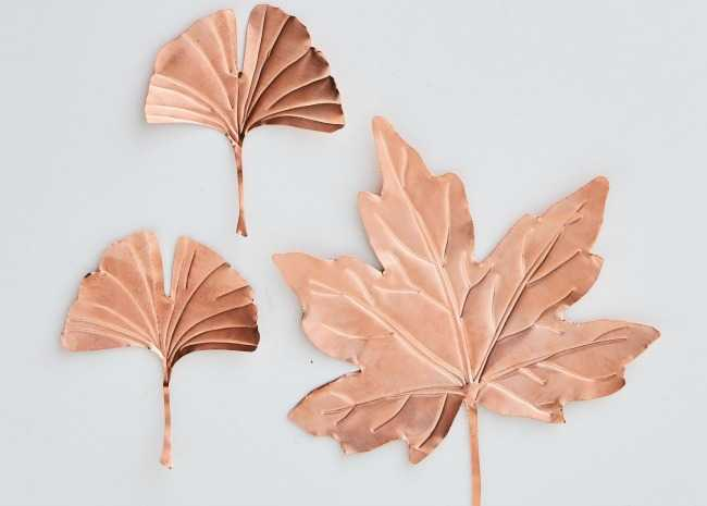 Copper Leaf Cut-Outs