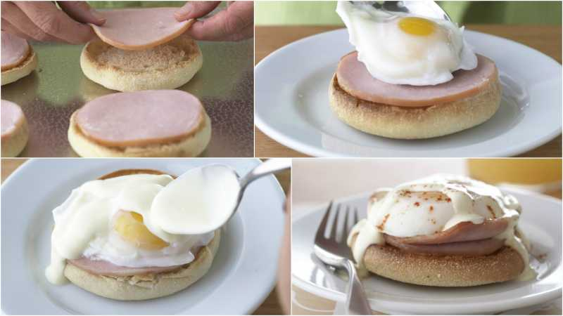 Eggs Benedict_Collage