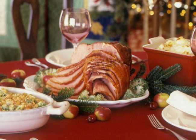 Create the perfect traditional christmas dinner allrecipes christmas ham forumfinder Images