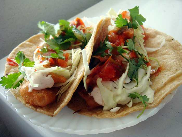 Off the hook fish recipes to get you through lent for Best fish tacos nyc