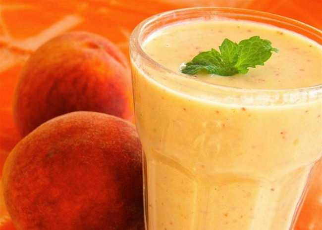 Georgia Peach Smoothie