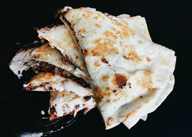 Gooey Tortilla S'more