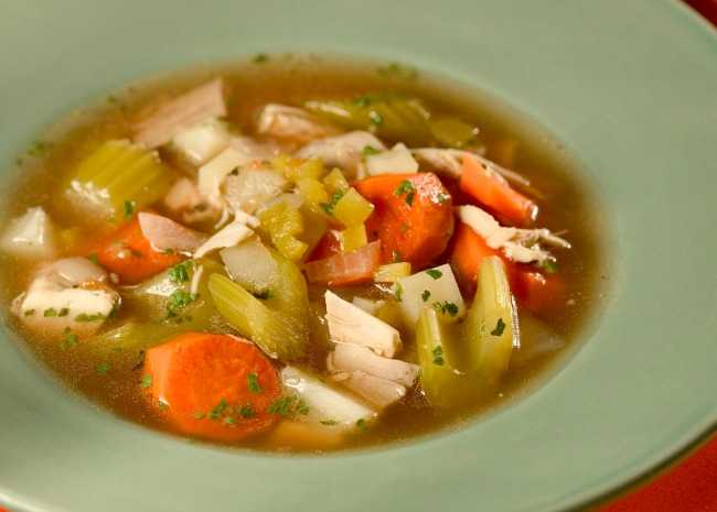Green Chile Chicken Stew