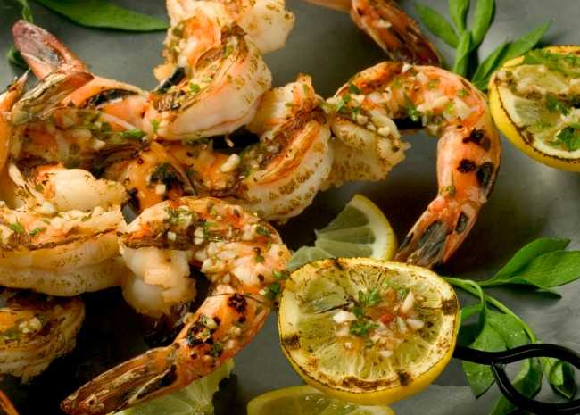 Grilled Marinade Shrimp
