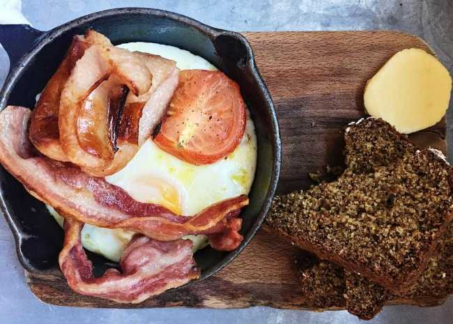 Irish fried breakfast