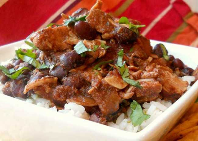 Jerre's Black Bean and Pork Tenderloin Slow Cooker Chili_
