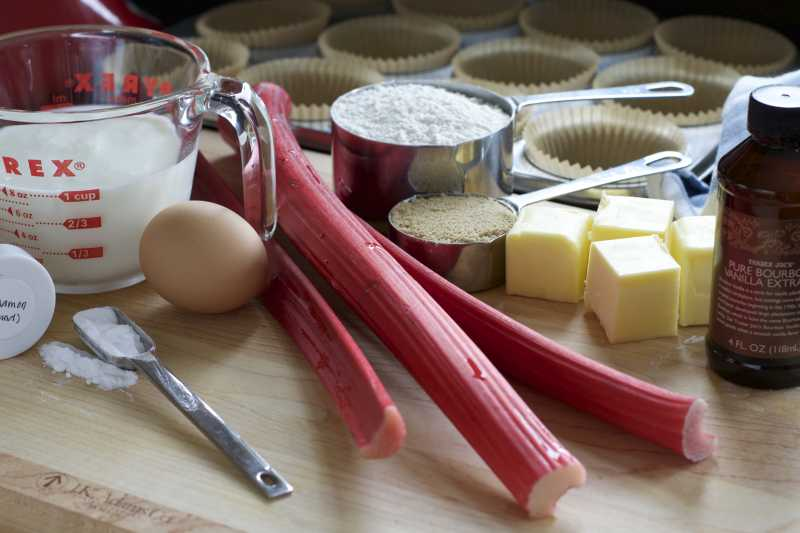 Baking with Fresh Rhubarb