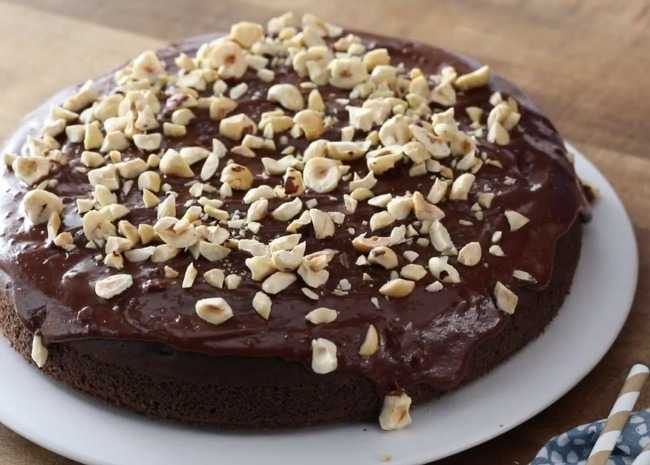 No-Workout-Needed Chocolate Cake