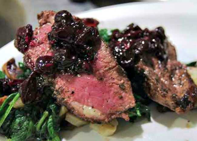 Pan-Seared Duck Breast