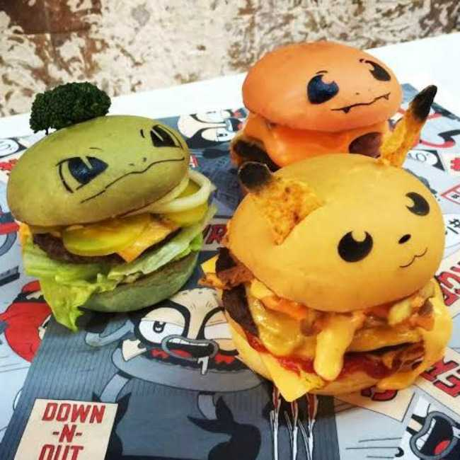 Pokemon Burgers. Image by AU Review