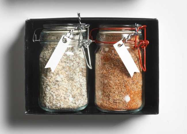 Seasoning Salts in Gift Box