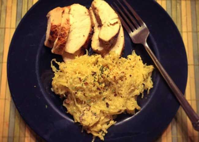 spaghetti-squash-carbonara-photo-by-dani-guerrero