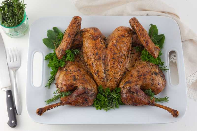 How to Spatchcock And Roast A Turkey | Allrecipes