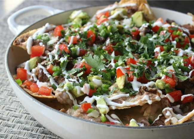 Super-Deluxe Steak Nachos