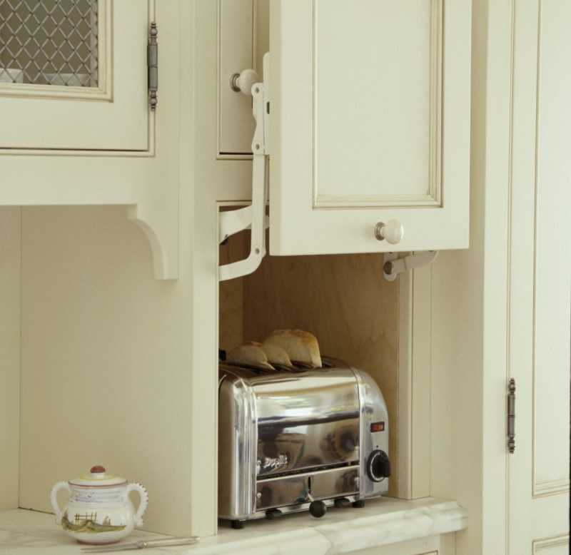 Toaster in Cabinet