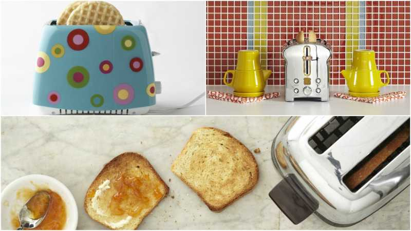 Two Slice Toasters Collage