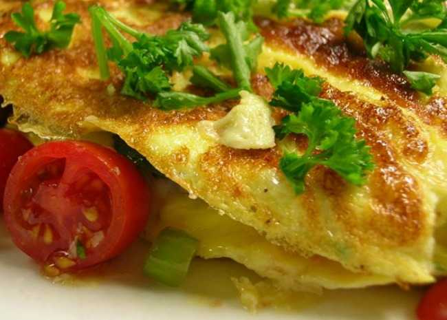 Yummy Veggie Omelet. Photo by Sherri