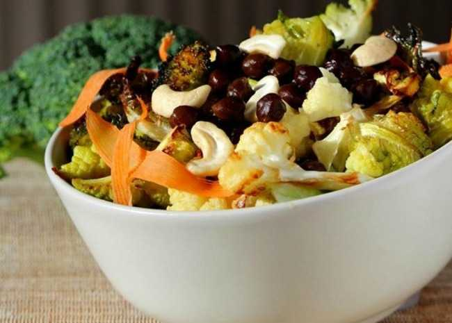 broccoli-cauliflower-chickpea-bowl