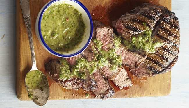 chimichurri photo by Meredith