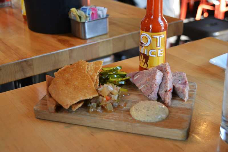 Cochon Butcher's famous headcheese