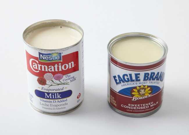 condensed vs. evaporated milk Photo by Meredith_resized