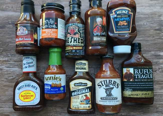edited BBQ sauce group shot