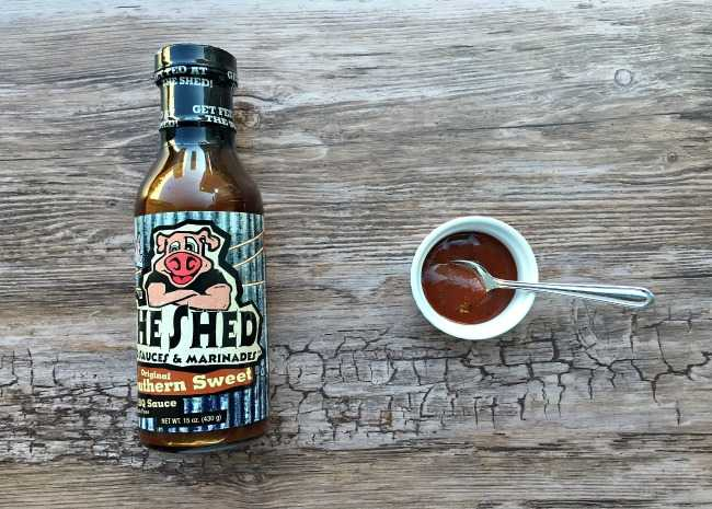 edited The Shed BBQ sauce photo by Leslie Kelly