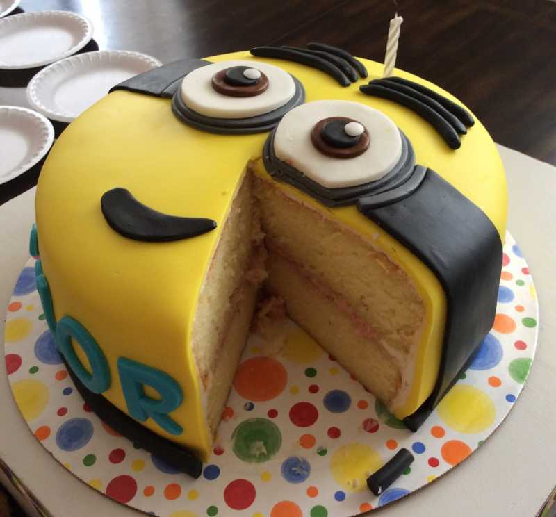 Recipes And Decorating Ideas for MinionThemed Desserts Allrecipes