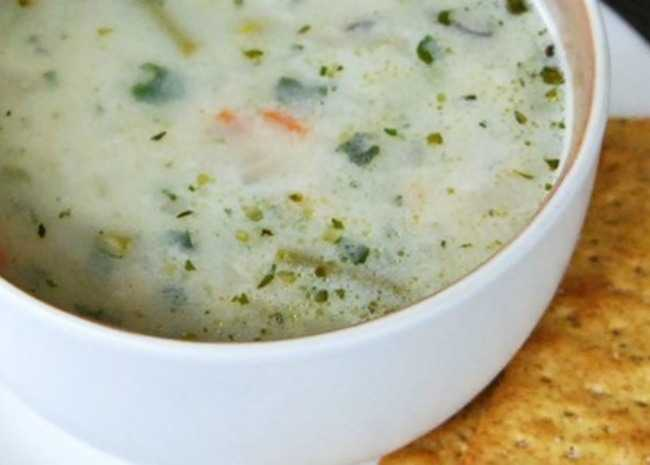 french spring soup